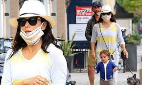 <b>Eva Longoria</b> enjoys Mother's Day outing with son Santiago and ...