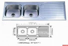 sink dimensions double  double kitchen sink dimensions decoration ideas within kitchen sink s