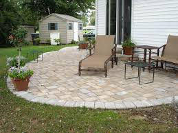 paver patio excellent ideas