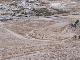 herod s tomb ehud netzer and a case of mistaken identity pool complex at the herodium as seen from the summit of the palace fortress photo courtesy of joshua n tilton