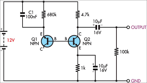 white noise generator  circuit diagram and generators on pinterest