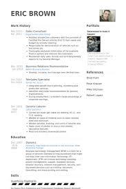 sales consultant resume samples   visualcv resume samples databasesales consultant resume samples