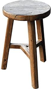 FF ? <b>Footstool Antique style</b> wooden <b>stool Solid</b> wood <b>stool</b> Antique ...