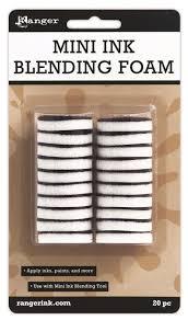 "<b>Tim</b> Holtz/Ranger Mini Ink Blending <b>Replacement</b> Foams 1"""" Round ..."