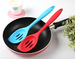 pan kitchen utensils pcs baking tool kitchen utensil spoon shape colander silicone cm color