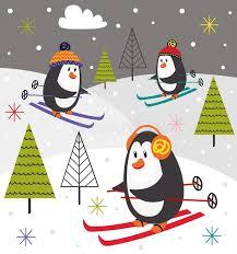 <b>Skiing Penguins</b>