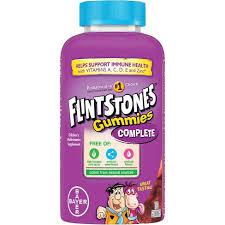 Flintstones Children's <b>Complete Multivitamin Gummies</b> - Cherry ...