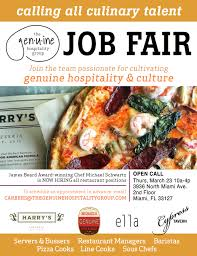 Now Scheduling Interviews The <b>Genuine</b> Hospitality Group Job Fair ...