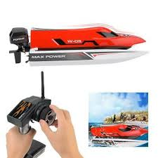 <b>Wltoys F1</b> 45km/h <b>2.4GHz</b> Brushless Remote Control Speedboat ...