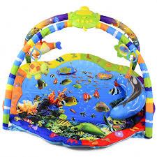 <b>La</b>-<b>di</b>-<b>da Развивающий коврик</b> Подводный Мир (со светом и ...