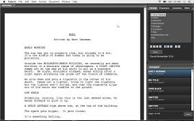 script writing programs for mac sample outline for script writing programs for mac
