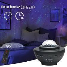 <b>USB LED Star Night</b> Light Music Starry Water Wave LED Projector ...
