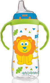<b>Large Learner Cup</b>, <b>9</b> Months and Above, Jungle Boy, 1 Cup, 10 oz ...