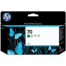 <b>HP</b> C9457A Designjet Z2100 No.<b>70 Green</b> Ink Cartridge (130ml)