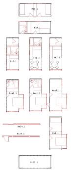 Modern House Plans by Gregory La Vardera Architect  LamiDesign IBU    The bedrooms are very small by today    s standards  The bathrooms are as well   x s as they are known in the industry  Yet the living room at ft by ft is