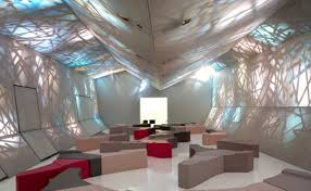 for those seeking original and innovative office design ideas a stretch ceiling provides a high quality and surprisingly economical office design idea innovative office ideas