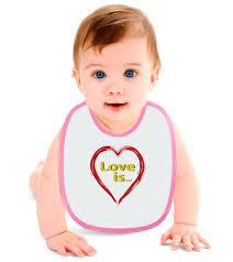<b>Слюнявчик Love</b> is... #2966774 от ModaNaGoda
