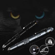 <b>Multi Function Tactical Pen Self</b> Defense Glass Breaker Outdoor ...