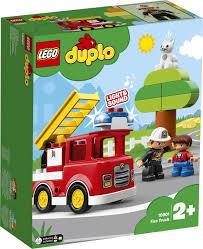 <b>Конструктор LEGO DUPLO</b> 10901 <b>Пожарная</b> машина — купить в ...