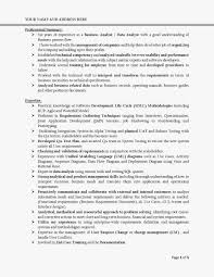 qa automation analyst resume resume sample example of business analyst resume targeted to the job