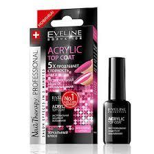 Eveline Nail Therapy Professional Аcrylic top coat <b>Экстремальная</b> ...