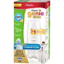playtex diaper genie elite pail carbon filter walmart com