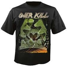 <b>overkill the grinding</b> wheel shirt