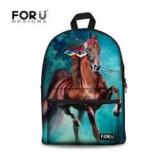 <b>FORUDESIGNS</b> 3D Animal <b>Men's</b> Backpacks Crazy Horse Prints ...
