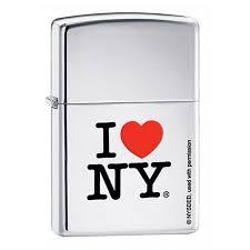 <b>Зажигалка Zippo</b> I love NY <b>214</b> на ZIPPO-RUSSIA.RU
