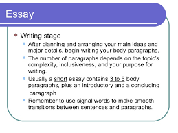 elements of an effective essay essay  writing