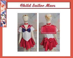 <b>Christmas</b> Child's Sailor Mars <b>Cosplay Costume Girls</b> Scout | Etsy
