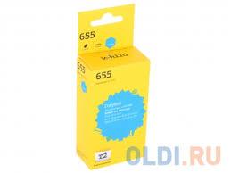 <b>Картридж T2 IC-H110 №655</b> CZ110A голубой (cyan) 600 стр. для ...