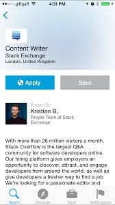 how to get the most out of linkedin s job search app tapsmart apply button in linkedin job search