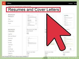 how to create a resume in microsoft word     sample resumes image titled create a resume in microsoft word step