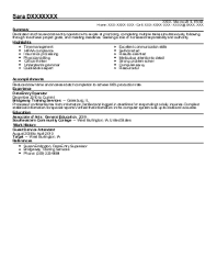 District Sales Assistant Resume Example  Paychex Inc