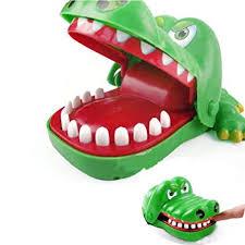 Aquiver <b>Big Crocodile</b> Mouth Dentist Bite Finger ,Family Game Toy ...