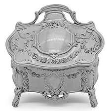 AVESON Rectangle <b>Vintage</b> Metal Jewelry Box <b>Trinket</b> Gift Box ...