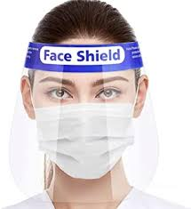 Straame <b>Transparent</b> Safety <b>Face Shield</b> Full Protection Cap Wide ...