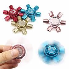 <b>Hot Sale</b> Metal Fidget Spinner Bronze <b>Hand</b> Spinner Stainless Steel ...
