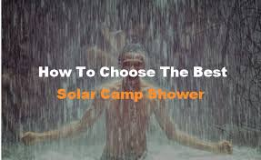 Best <b>Solar Camp Showers</b> 2019 | We Reviewed ALL of them