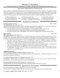 professional resume cover letter sample professional cost administrative professional resume example