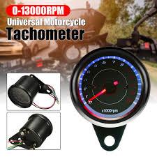 <b>HOT SALE 12V</b> 13000 RPM Tachometer Speedometer Motorcycle ...