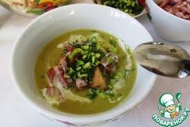 Лондонский суп из <b>колотого зеленого гороха</b> – кулинарный рецепт