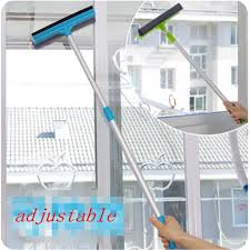 1pc Glass Window Cleaner 2-in-1 Cleanning Brush Wiper ...