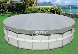 <b>Intex</b> 28040 <b>Тент</b> для каркасного бассейна <b>Ultra</b> Frame 488см ...