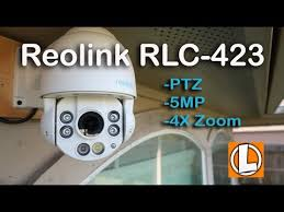 Reolink <b>PTZ</b> RLC-423 IP <b>PoE</b> Security <b>Camera</b> Review - Unboxing ...