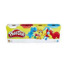 Купить <b>пластилин Hasbro Play</b>-<b>Doh</b> B5517 Набор из <b>4</b> баночек ...