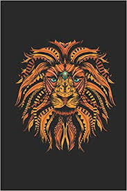 "Lion <b>Ethnic</b>: <b>Lions</b> Notebook, Blank Lined (6"" x 9"" - 120 pages ..."