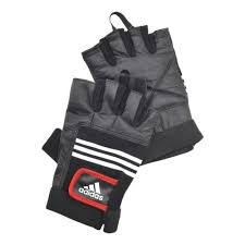 <b>Тяжелоатлетические перчатки ADIDAS</b> Leather Lifting Glove (кожа)