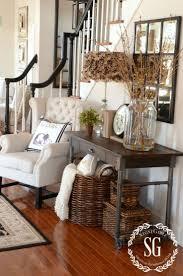 idea entryway living room storage